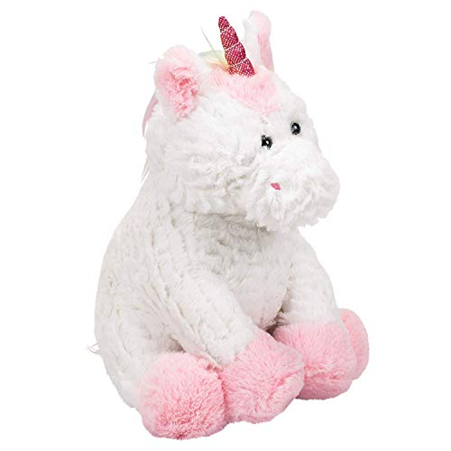 Ganz Plush 11 Inch Pink White Unicorn Coin Bank Stuffed Animal