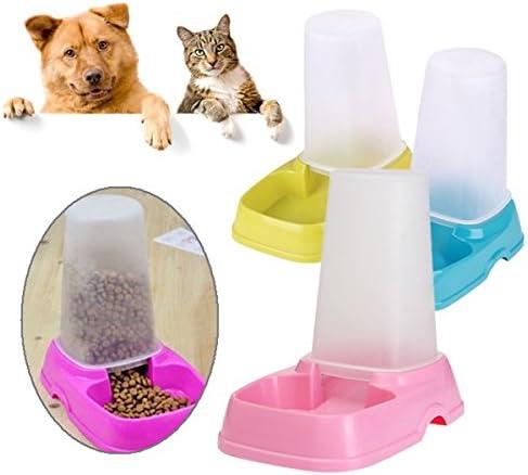 Kuntaa Dispensador automático de doble finalidad, para alimentos y agua, para mascotas, gatos, perros: Amazon.es: Productos para mascotas
