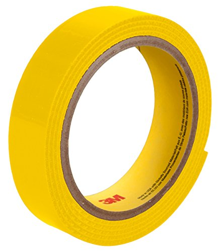 3M 25914 Fastener SJ3519FR Hook Flame Resistant S002, 1'' x 50 yd. 0.15'' Engaged Thickness, Yellow by 3M