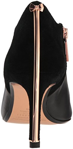 Suede Boot Leather 2 Baker Black Fashion Ted Akasha Women's wa81nWq4