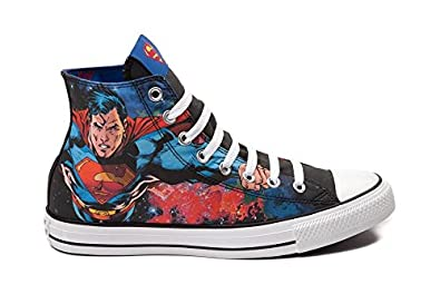 528b20d50bdb ... dc comics sneakers superman 199f6 07882 promo code for converse chuck  taylor all star hi superman sneaker unisex shoes 0802b 2bb69 ...
