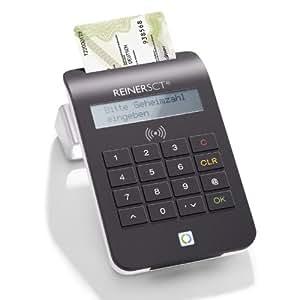 Reiner SCT cyberJack RFID komfort - Lector de tarjetas de crédito y DNI electrónico, color negro