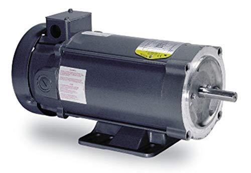 - BALDOR CDP3436 56C Frame TEFC DC Motor, 0.75 hp, 1750 RPM, 3428P, F1, 180V Armature Voltage
