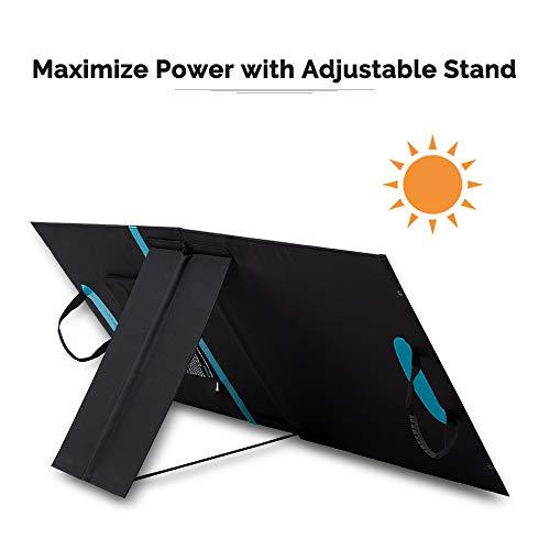 Renogy E.Flex 100 Watt Portable Solar Panel Off Grid Outdoor Solar Cells 18VDC Output 5V USB Port
