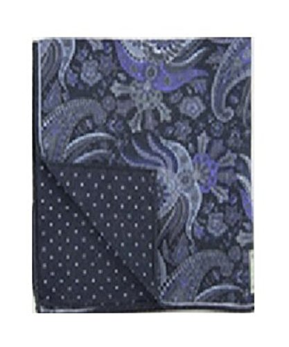 Robert Talbott Black Estate Pocket Square 15