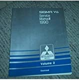 1990 Mitsubishi Sigma Electrical Service Repair Manual