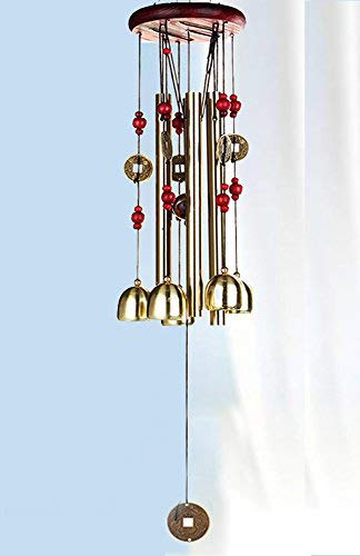 PARADIGM PICTURES Brass Feng Shui Wind Chime