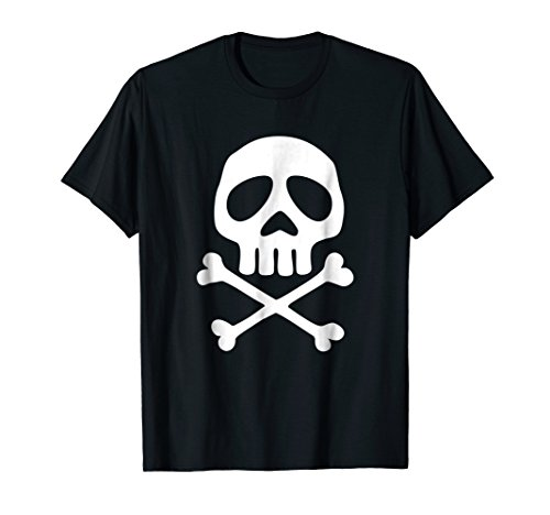 Skull Space Pirate Captain Party Festival Halloween T-shirt ()