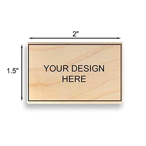 75mm X 101mm Custom Art Mount Rubber Stamp Upload Your Own Artwork Many Sizes To Choose From Image Size 3 High X 4 Wide Max Wood Stamps Kolenik Scrapbooking