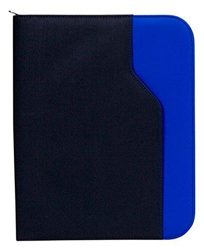 GOODHOPE Bags G8130 Universal E-Reader Tablet iPad Zip Around Padfolio, Blue