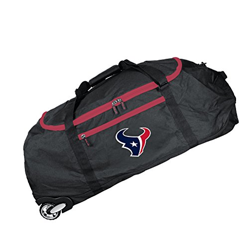 NFL Houston Texans Crusader Collapsible Duffel, 36-inches
