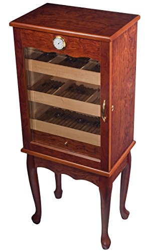 Orleans Group Display Humidor Multi Level Trays Glass Front Doo, 600 Count by Orleans Group