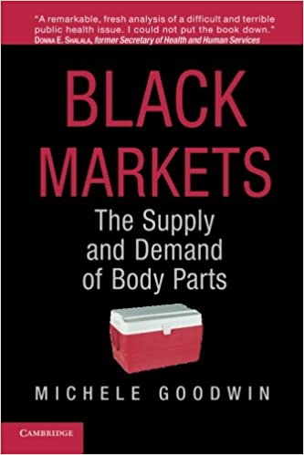 Black Markets: The Supply and Demand of Body Parts: Michele ...