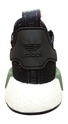 Adidas Originals Nmd_r1 Heren Schoenen Van De Trainerstennisschoenen (us 8, Groene Kern Wit Zwart Bb1357)
