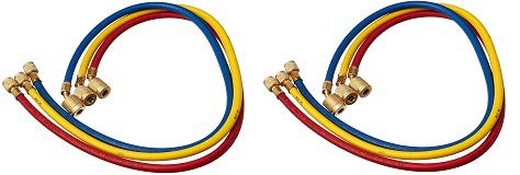 Yellow Jacket 22983 45 Degree SealRight Fitting, 36'', Red/Yellow/Blue (Pack of 3) (2-(Pack))