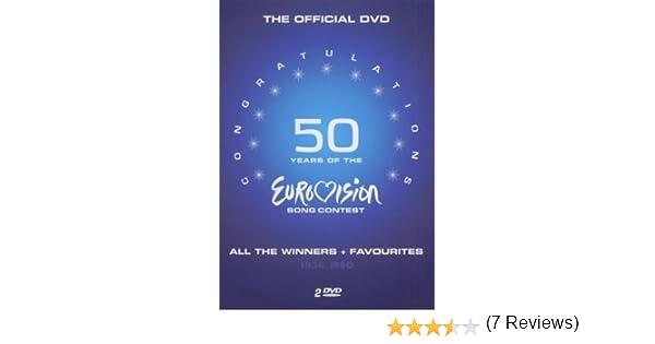 Various Artists - 50 Years of Eurovision 1956 - 1980 Alemania DVD: Amazon.es: Various, Ohne Altersbeschränkung: Cine y Series TV