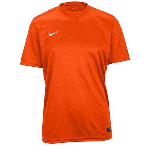 Nike Tiempo II Soccer Jersey,Orange/White,Small