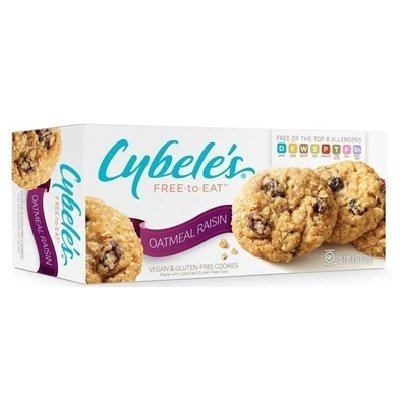Cybele's Oatmeal Raisin Cookies, 6.6-ounce Boxes (Pack of 6) (Cybele Cookies)