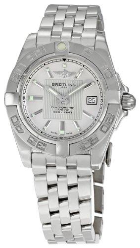 Breitling Women's A71356L2-G702SS Galactic 32 Silver Index Dial Quartz Watch