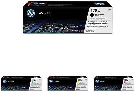 Amazon.com: HP 128 A (CE320 A, CE321 A, CE322 A, CE323 A ...