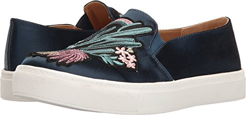 Dirty Laundry by Chinese Laundry Women's Joon Fashion Sneaker, Navy Satin, 8.5 M US