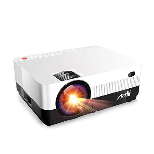 Portable Projector - Artlii HD Projector with...