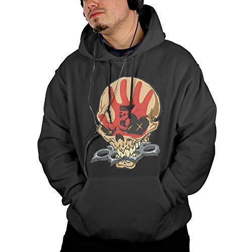 4382586f68a1 KLA2000 Mens Hoodies Five Finger Death Punch Casual Hooded Drawstring  Sweatshirts