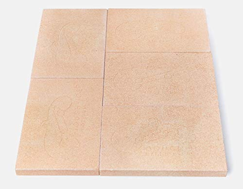 "Dough-Joe 15"" x 18"" Pizza & Baking Stone (5-piece set)"