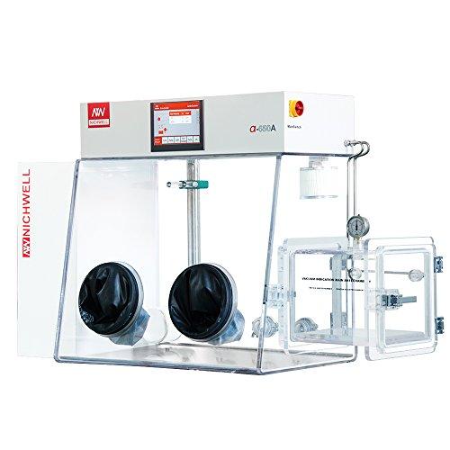 Vacuum Glove Box (NICHWELL α-650A-P-2525R Acrylic Vacuum Glove Box (49