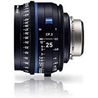 Zeiss 25mm T2.1 CP.3 XD Compact Prime Cine Lens (Feet) PL Bayonet Mount