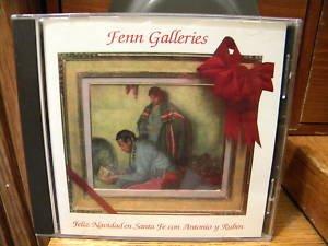 Fenn Galleries Feliz Navidad en Sante Fe Antonio y