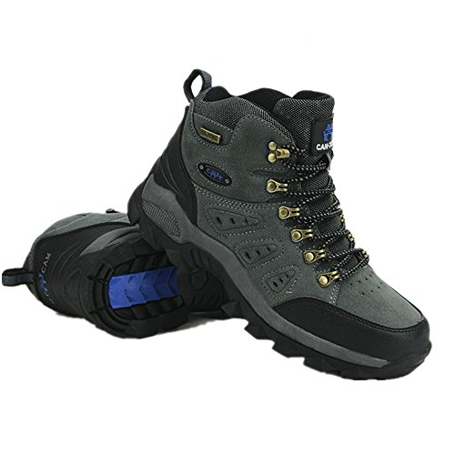 Mountain Randonnee Gris D'escalade Showlovein Homme Boots Impermeable Chaussures OqxwCSdg