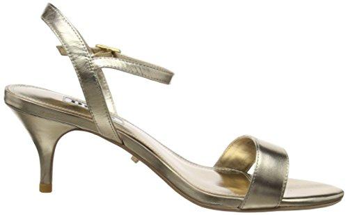 Monnrow caviglia cinturino in da con donna alla oro Dune Sandali tXdFHwXq