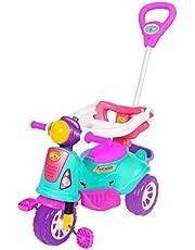 Carrinho De Passeio Ou Pedal Infantil Triciclo Avespa - Maral - Pink
