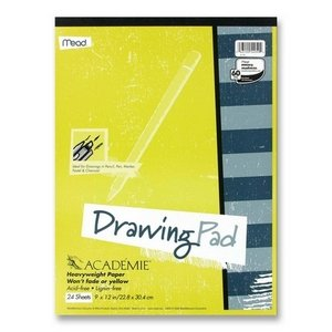 - MEA54050 - Mead Academie Drawing Pad