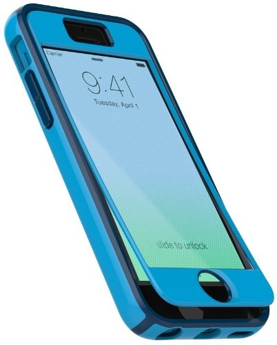best service bf7e7 1d28a Speck Products iPhone 5c CandyShell Case Plus FACEPLATE - Carrying Case -  Lagoon Blue/Deep Sea Blue
