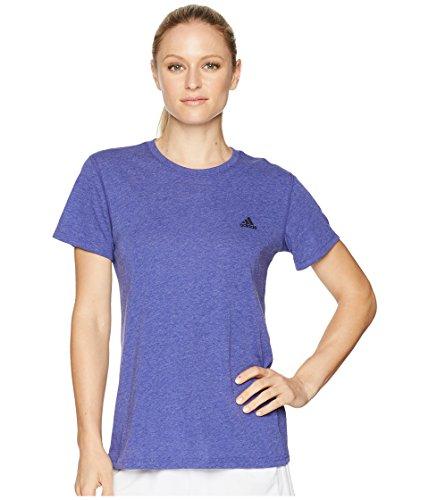 adidas Womens Ultimate Short Sleeve Tee Real Purple X-Large