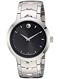 Movado Men's 0607041 Swiss Quartz Stainless Steel Automatic Watch