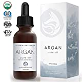 Foxbrim Pure Organic Argan Oil for Hair, Skin, Face & Nails - 100% Natural From Morocco - Virgin Cold Pressed - 2 fl. oz