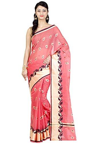Chandrakala Women's Banarasi Cotton Silk Saree
