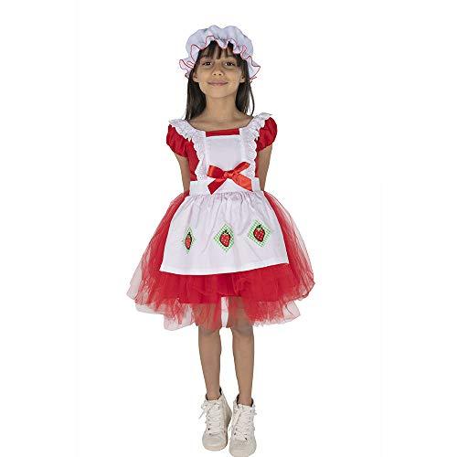 Strawberry Shortcake Costumes Amazon - Dress Up America Red Strawberry Ballerina