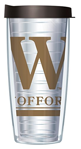 Wofford College Large Logo Clear 16 Oz Traveler Tumbler Mug with - Logo Mug College