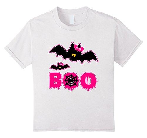 Kids Cute Halloween Ribbon Bat Matching Shirt for Daughter Mom 6 (Mom And Daughter Matching Halloween Costumes)