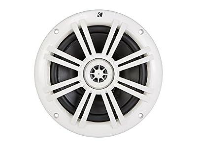 """Kicker 41KM604W 6-1/2"""" 6.5"""" KM-Series 150W Peak/50W RMS Marine Speakers KM60 New"""