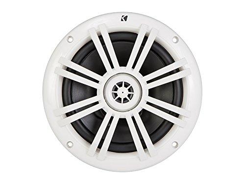 Kicker 41KM604W 6-1/2'' 6.5'' KM-Series 150W Peak/50W RMS Marine Speakers KM60 New by Kicker