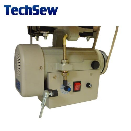 Techsew 402 industrial fur sewing machine with assembled for Industrial servo motor price