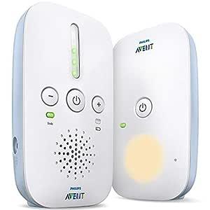 Philips Avent DECT babymonitor - Störningsfri anslutning - Energibesparande ECO-läge - Ljudnivålampor - Räckvidd upp till 330 meter - Upp till 24 timmars driftstid - Nattlampa - SCD503 / 26