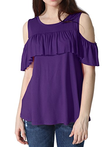 JayJay U Neck Shoulder Ruffle Design product image