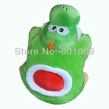 Amazon.com: Super Mario Bros Yoshi cojín almohada juguete de ...