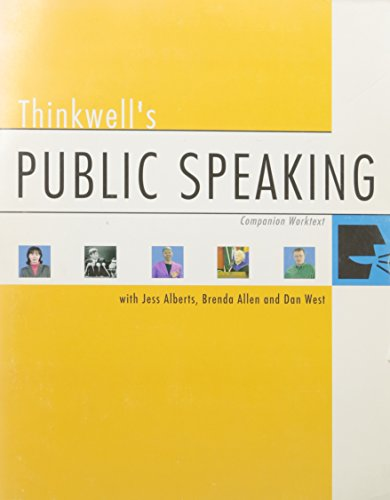 Thinkwell's Public Speaking